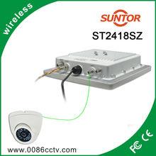 Rs485 2.4 ghz 3 w transmisor inalámbrico de fm antena