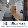 Sound insulation steel frame mobile mini mobile homes for sale