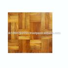 Walnut wood floor tiles