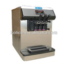 2+1 mix flavors table top commercial soft ice cream machine