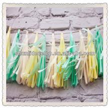 Nursery or Baby shower Soft Pastel Tassel Garland