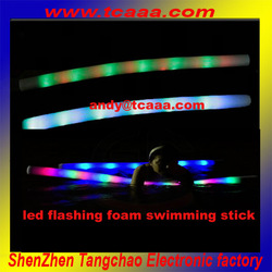 inflatable foam flashing tubes for swimming