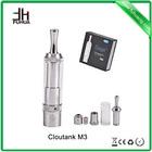 Shenzhen high quality e-cigarette atomizer portable ecig cloutank m3 vamo vapor blunt ecig
