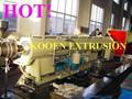 Pvc tubo de enhebrado que hace la máquina