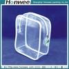 wholesale best selling plastic pvc mesh zipper bag