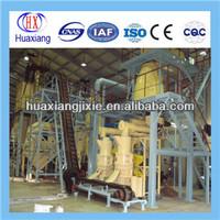 Mobile wood pellet production line