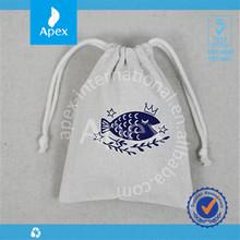 2014 cute cotton drawstring mini storge bags