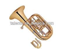 4 valves Bb/C key euphonium