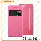 Pink Patterned PU leather flip case for Iphone5 5S