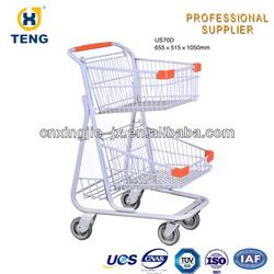 American shopping cart baby car trolley shop