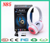Stereo Headphones N85 wireless headset support tf card head-mounted MP3 sport headphones