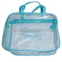 2014 Waterproof pvc zipper bag