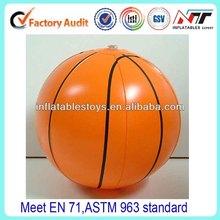 PVC inflatable basketball,beach ball