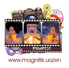 Budapest 3D tourist polystone souvenir