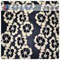 2014 atacado pequeno padrão floral tecido de nylon rendas seco africano projetos para abrir voltar lace vestido de noite