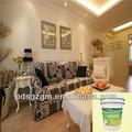diseño de la decoración funcional respetuosos del medio ambiente pintura de emulsión para las paredes interiores