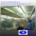movable class1000 pvc cortina de la tira cabina limpia para la estación de la biotecnología