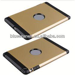 2014 new design for ipad mini tpu case for ipad mini tpu pc combo case