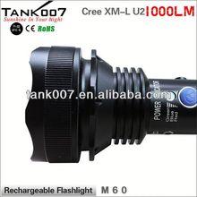 كري tank007 tc60 xm-l u2 ماكس 1000 lm مضيا/ صيد ادى مشاعل a1454 ولاعة السجائر