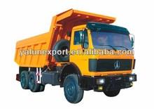 Beiben 6x4 mining tipper/dump truck for mining