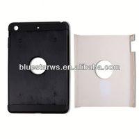 Mobile Phone Accessories clear pc tpu case for ipad mini tpu pc combo case