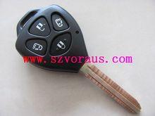 Toyota 4 Button Remote replacement Key Shell&Toyota keyless remote key blank