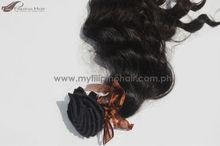 Durable Clip on Hair Extensions Virgin Filipino Hair
