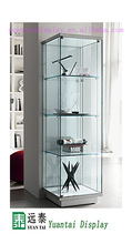 tall wooden display cabinet ,glass showcase designs,retail store display case