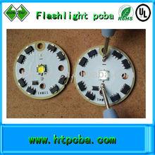 flashlight cree led pcb driver
