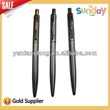 hot selling high quality metal ball pen,metal clip ball pen