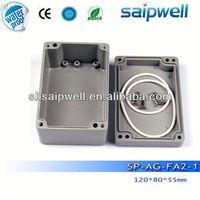 2014 Best sales aluminium extrusion enclosure / box, IP67 aluminium extrusion enclosure / box made in China