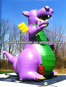 dinosaur inflatable balloon,giant inflatable dragon F1016