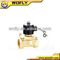 Normalmente cerrado 24 v DC micro solenoide de la válvula de aire