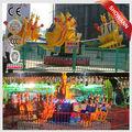 Funfair passeios de diversões salto canguru/equipamentos divertido saltar brinquedo canguru