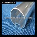 personalizado anormal de anodizado de aluminio del tubo hueco perfil