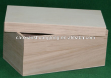Cheap Wholesale Unfinished Wood Chest