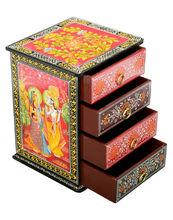 Múltiples cajones decorativos con gabinete del cajón, gabinete de madera de cajón de varios,