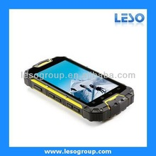 4.5 inch multi touch screen IP68 waterproof phone quad core military standard rugged phone quad core