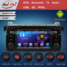 HuiFei Android 4.2.2 for BMW E46 M3 Car DVD Player with Mirror Link Capacitive Touch Screen Multipoint support OBD2