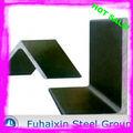 en forma de l de ángulo de hierro y de aleación de los ángulos