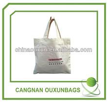 2014 fashion high quality reusable tote 100 cotton bag