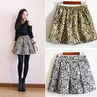 2014 latest design Women's Girls Golden Rose Elegant Short Mini Skirt photos