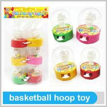 Kids Outdoor Games Equipment Happy Plastic Basketball Hoop Toy
