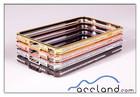 Deluxe Bling Diamonds Metal bumper case for s4 mini samsung galaxy s4