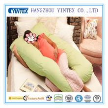 Fashion Green 100% Cotton Body Pillow for Gravida Manufacture