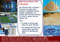 Filtro de areia para a água tratamento- todos os tamanhos
