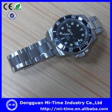 Popular automatic movt design steel best waterproof luxury watches men