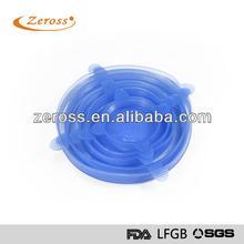 ZS-TM0051A food fresh Silicone Lids