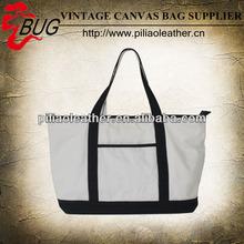 2014 New arrival Canvas summer tote handbag