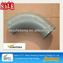 mechanical joint elbows elbow ST52 45Mn2 Concrete Pump Pipe parts pump bend/ pipe clampskype: francischen1010